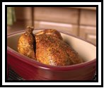 Roast Chicken from the Pampered Chef